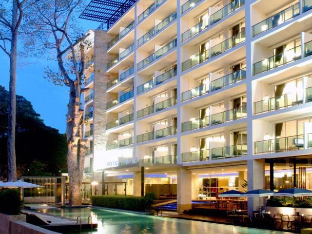パタヤのホテル ホテル ヴィスタ (Hotel Vista) パタヤビーチロード