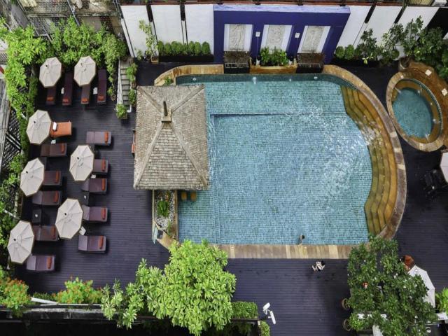 パタヤのホテル サンビーム ホテル パタヤ (Sunbeam Hotel Pattaya) パタヤ中心部