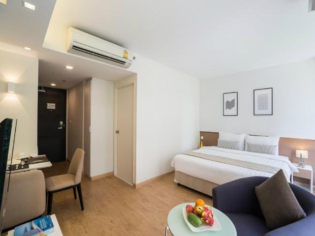 パタヤのホテル マインド プレミア スイーツ ホテル (At Mind Premier Suites Hotel) パタヤ中心部