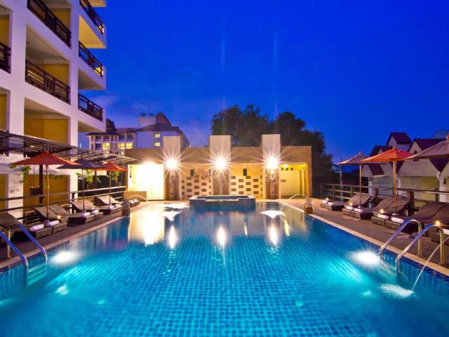 パタヤのホテル ゴールデン シー ホテル (Golden Sea Hotel) パタヤ中心部