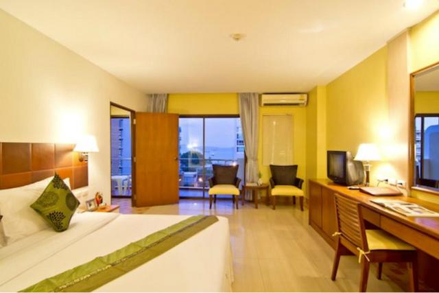 パタヤのホテル ベスト ビーチ ヴィラ (Best Beach Villa) パタヤビーチロード