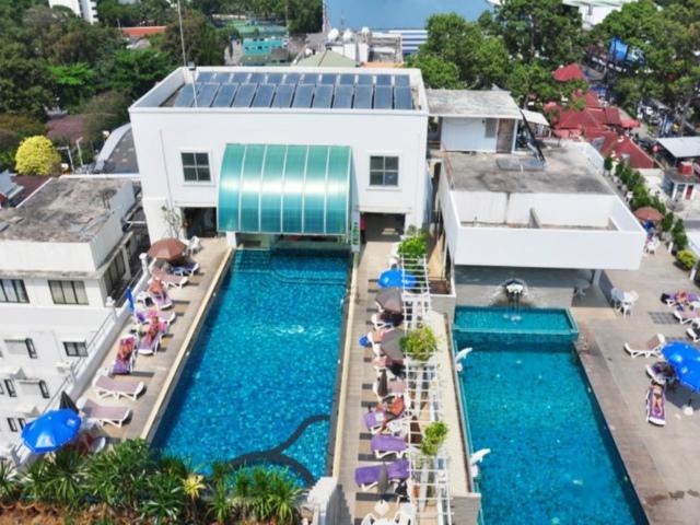 パタヤのホテル フリッパーハウス ホテル (Flipper House Hotel) パタヤ中心