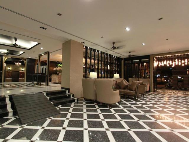 パタヤのホテル KTK リージェントスイート (KTK Regent Suite) パタヤ中心部