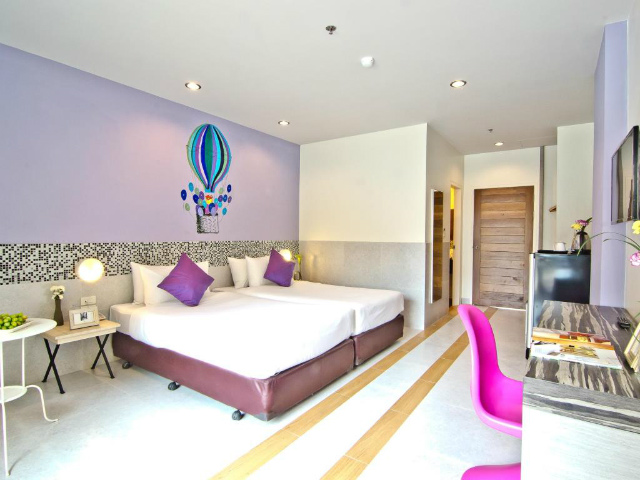 パタヤのホテル グランド ベッラ ホテル (Grand Bella Hotel) パタヤ中心部