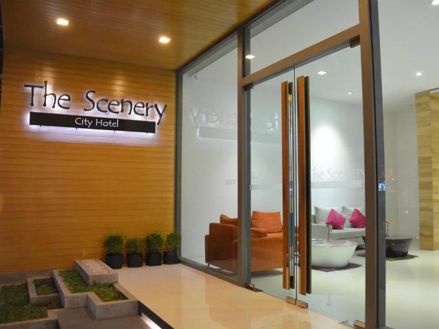 パタヤのホテル ザ シーナリー シティ ホテル (The Scenery City Hotel) パタヤ中心部