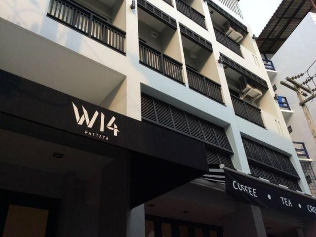 パタヤのホテル W 14 ホテル (W 14 Hotel) ウォーキングストリート