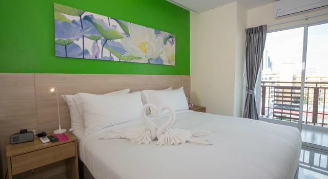 パタヤのホテル R コン ホテル アット サイアム (R-Con Hotel @ Siam) パタヤ中心部