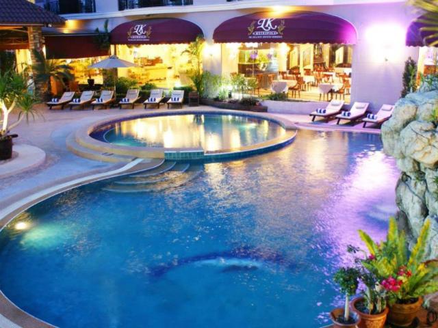 パタヤのホテル LK メトロポール ホテル (LK Metropole Hotel) パタヤ中心部