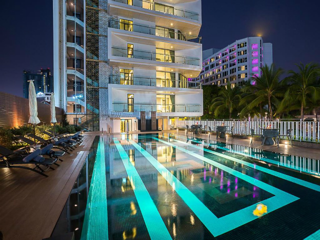 パタヤのホテル メラ マーレ ホテル パタヤ (Mera Mare Hotel Pattaya) パタヤビーチロード