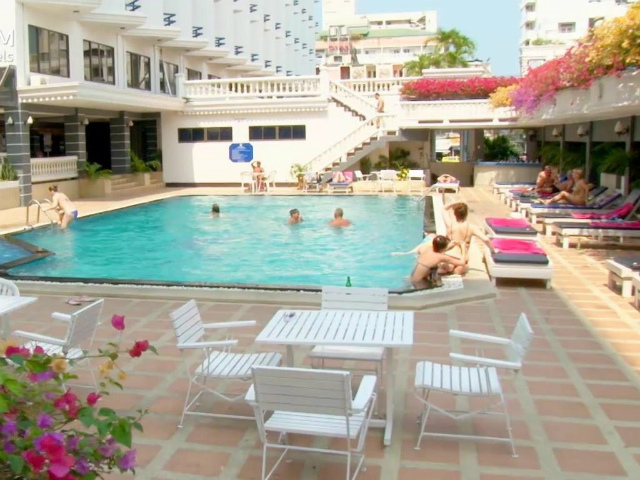 パタヤのホテル シーザー パレス ホテル (Caesar Palace Hotel) パタヤ中心部