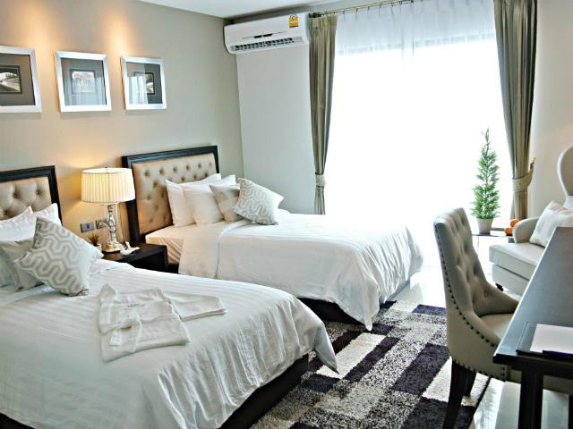 パタヤのホテル SN プラス ホテル (SN Plus Hotel) パタヤ北部