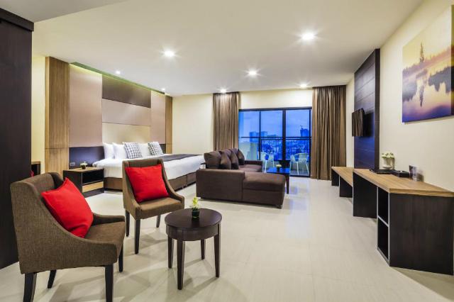 パタヤのホテル グランド パラッツォ ホテル パタヤ (Grand Palazzo Hotel Pattaya) パタヤ北部