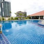 パタヤのホテル サイアム ビュー レジデンス (Siam View Residence) パタヤ中心部