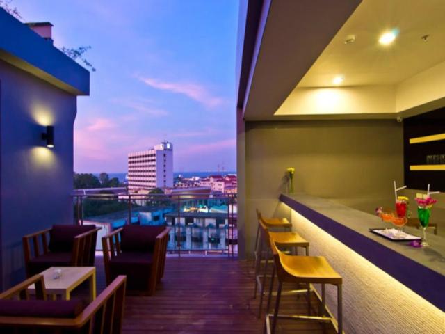 パタヤのホテル ザ サン エクスクルーシブ ホテル (The Sun Xclusive Hotel) パタヤ南部